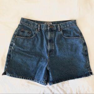 Vintage Bill Blass High Rise Denim Shorts | 14